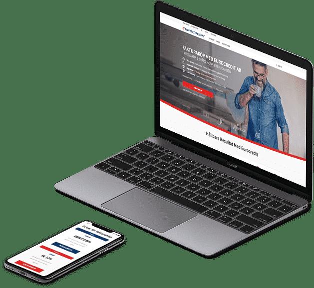 Webbprojekt Eurocredit