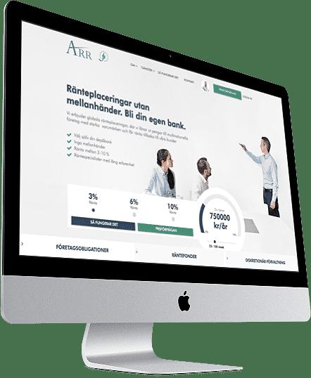 Webbprojekt ARR